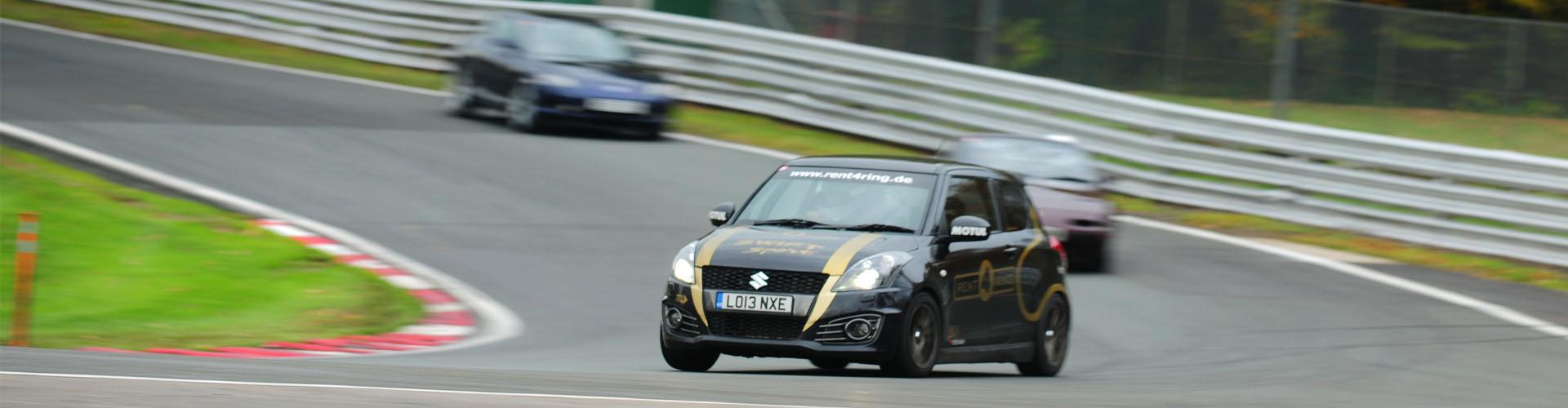 Suzuki Swift Sport on Track